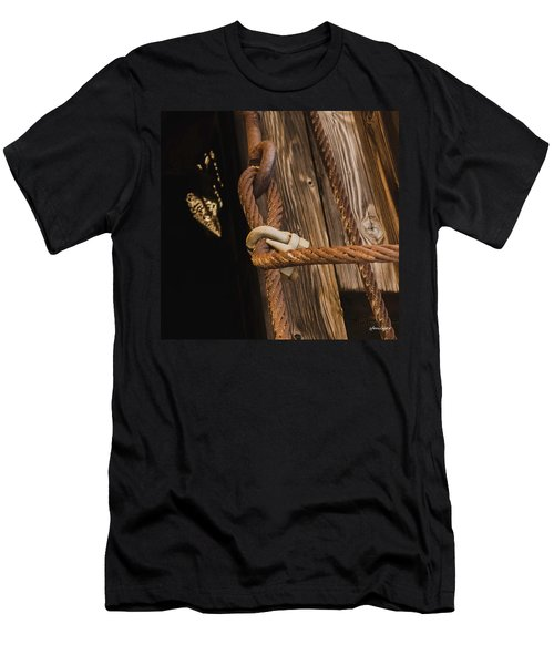 Wire Rope Men's T-Shirt (Athletic Fit)