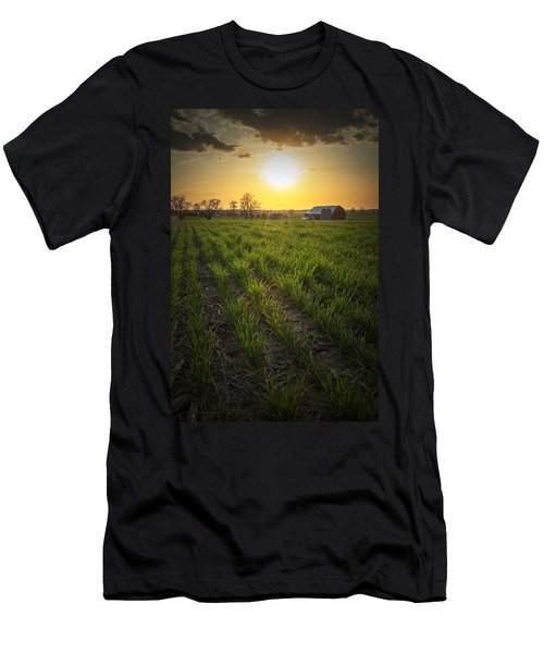 Wisconsin Farm Men's T-Shirt (Athletic Fit)