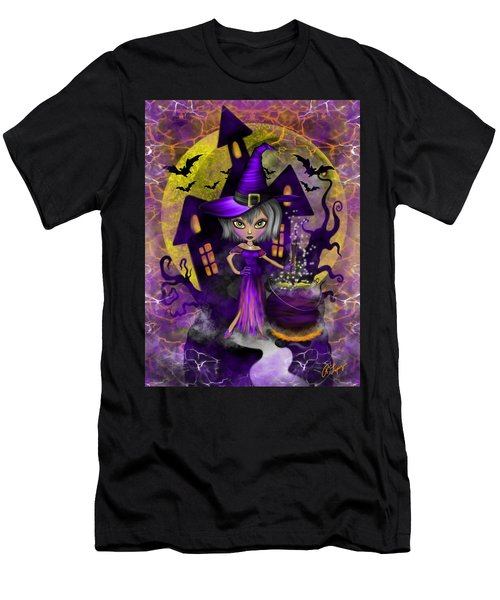 Wisdom Witch Fantasy Art Men's T-Shirt (Athletic Fit)