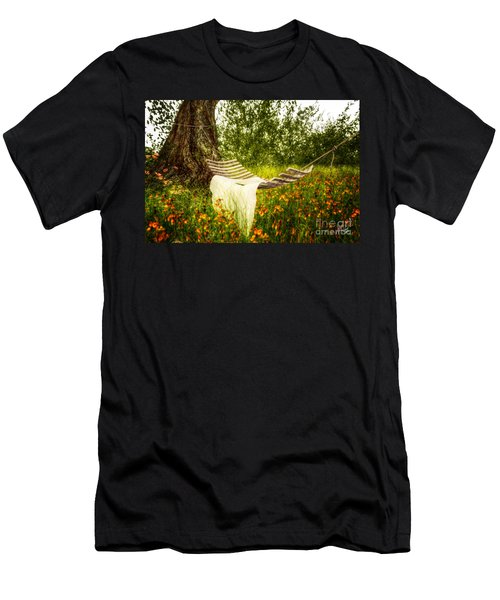 Wish You Were Here 140629 Men's T-Shirt (Athletic Fit)