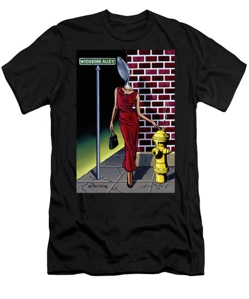 Wishbone Alley Men's T-Shirt (Athletic Fit)
