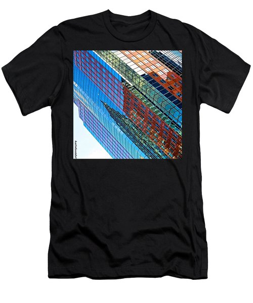 Wishing You A #bright And #colorful Men's T-Shirt (Athletic Fit)