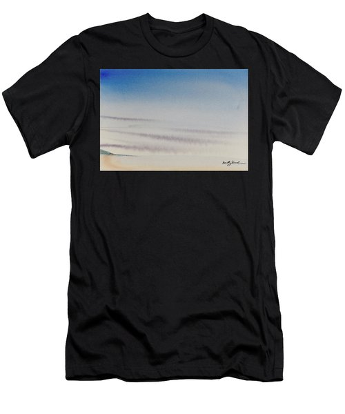 Wisps Of Clouds At Sunset Over A Calm Bay Men's T-Shirt (Athletic Fit)