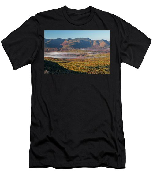 Wispy Autumn Tripyramid Sunrise Men's T-Shirt (Athletic Fit)