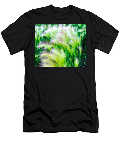 Wispy Green Men's T-Shirt (Athletic Fit)