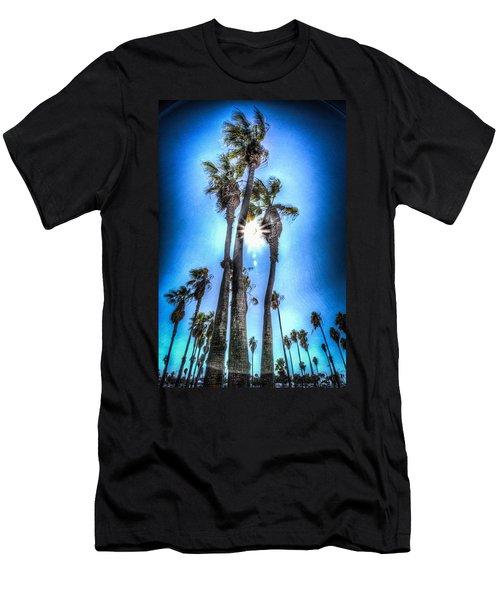 Wispy Palms Men's T-Shirt (Athletic Fit)