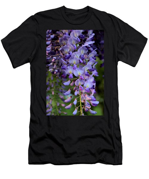 Wisteria In Bloom Men's T-Shirt (Athletic Fit)