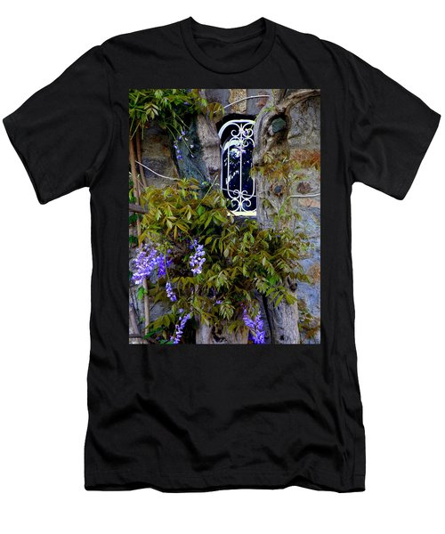 Wisteria Window Men's T-Shirt (Athletic Fit)