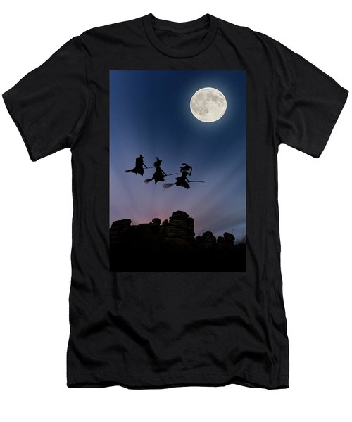 Witches Over Combstone Tor Men's T-Shirt (Athletic Fit)