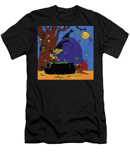 Witch's Brew Men's T-Shirt (Athletic Fit)