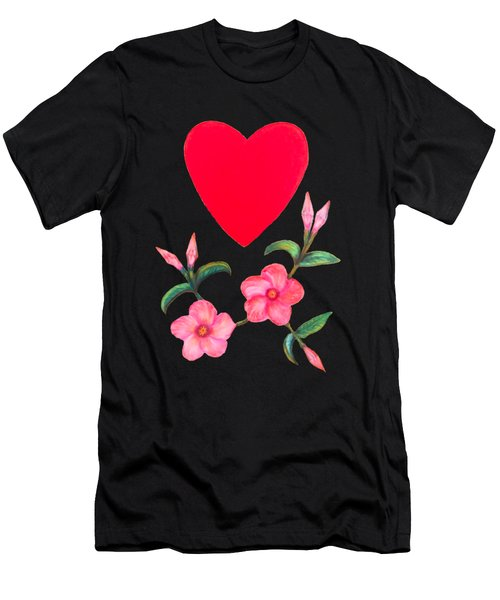With Love Men's T-Shirt (Athletic Fit)