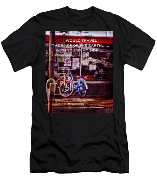 With You By My Side Men's T-Shirt (Athletic Fit)