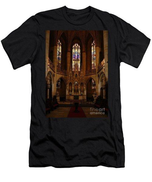 Wittenberg Castle Church 5 Men's T-Shirt (Athletic Fit)