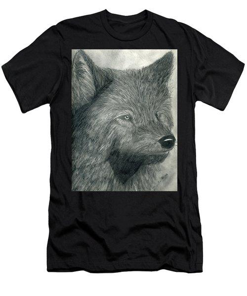 Wolf Men's T-Shirt (Slim Fit)