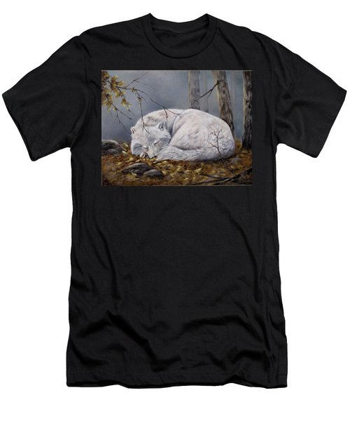 Wolf Dreams Men's T-Shirt (Athletic Fit)