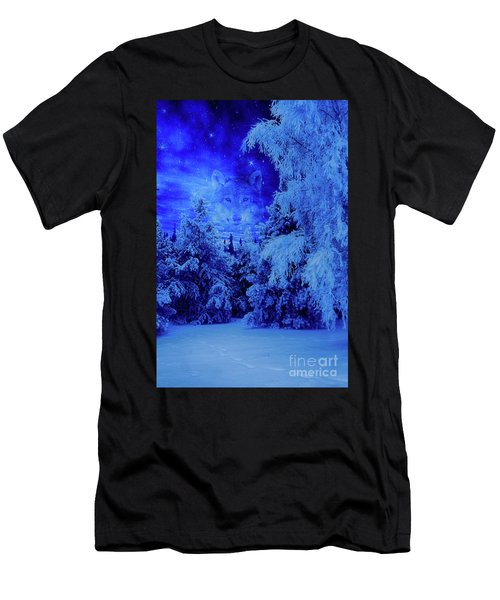 Wolf's Night Men's T-Shirt (Athletic Fit)