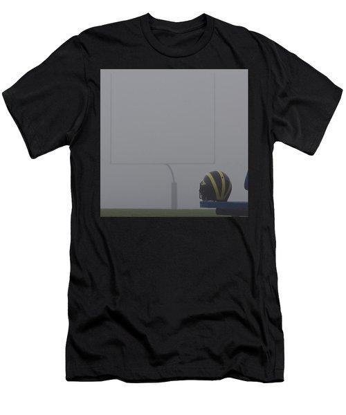 Wolverine Helmet In Heavy Morning Fog Men's T-Shirt (Athletic Fit)