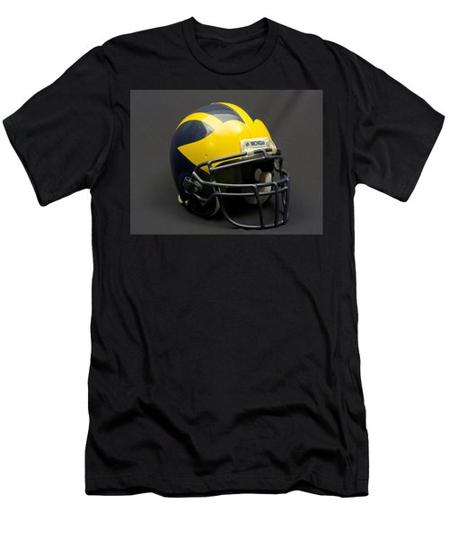 Wolverine Helmet Of The 2000s Era Men's T-Shirt (Athletic Fit)