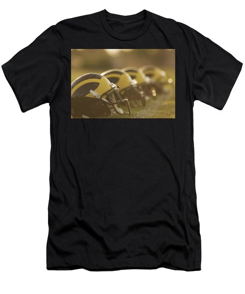 Wolverine Helmets Sparkling In Dawn Sunlight Men's T-Shirt (Athletic Fit)