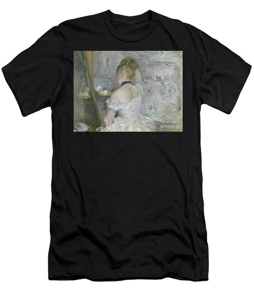 Woman At Her Toilette Men's T-Shirt (Athletic Fit)