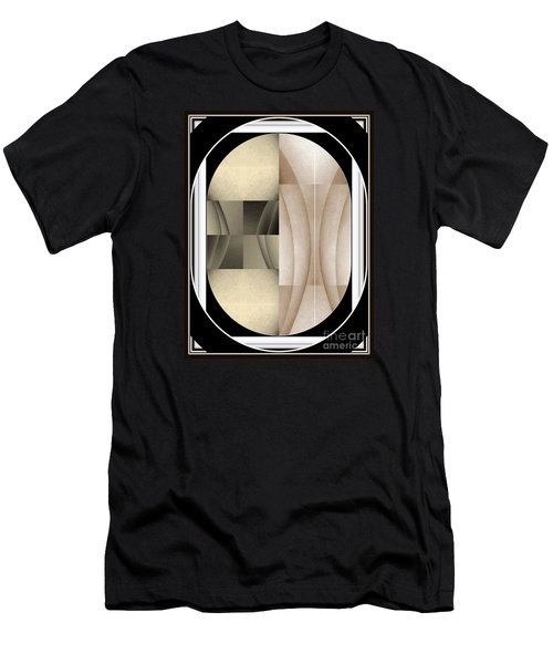 Woman Image Three Men's T-Shirt (Slim Fit) by Jack Dillhunt