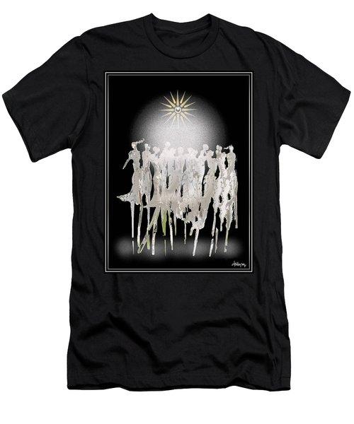 Women Chanting - Spirit Dance Men's T-Shirt (Athletic Fit)