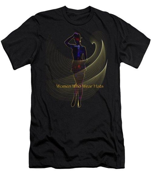 Women Who Wear Hats 5 Men's T-Shirt (Athletic Fit)