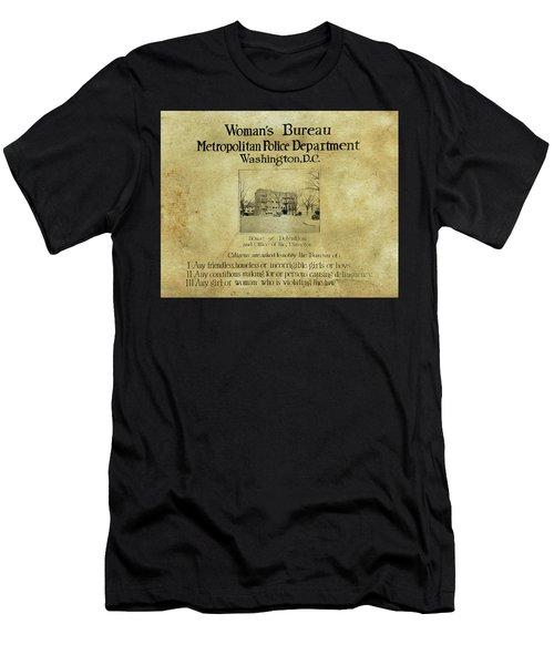 Women's Bureau House Of Detention Poster 1921 Men's T-Shirt (Athletic Fit)