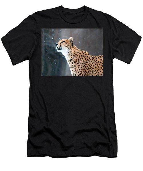 Wonder Of Snow Men's T-Shirt (Athletic Fit)