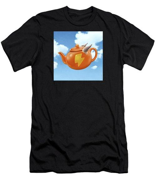 Wonder Teapot Men's T-Shirt (Athletic Fit)