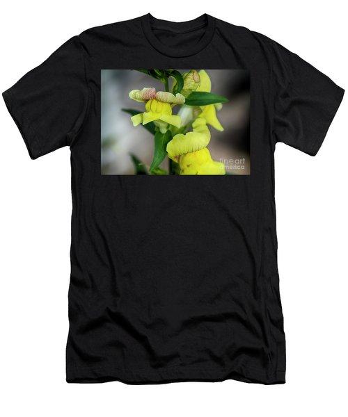 Wonderful Nature - Yellow Antirrhinum Men's T-Shirt (Athletic Fit)