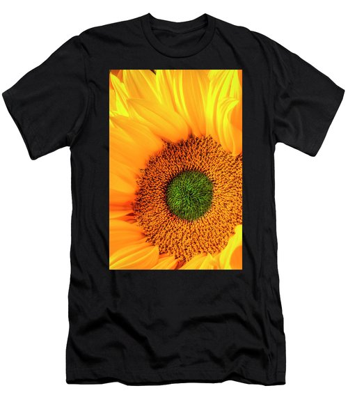 Wonderful Sunflower Close Up Men's T-Shirt (Athletic Fit)