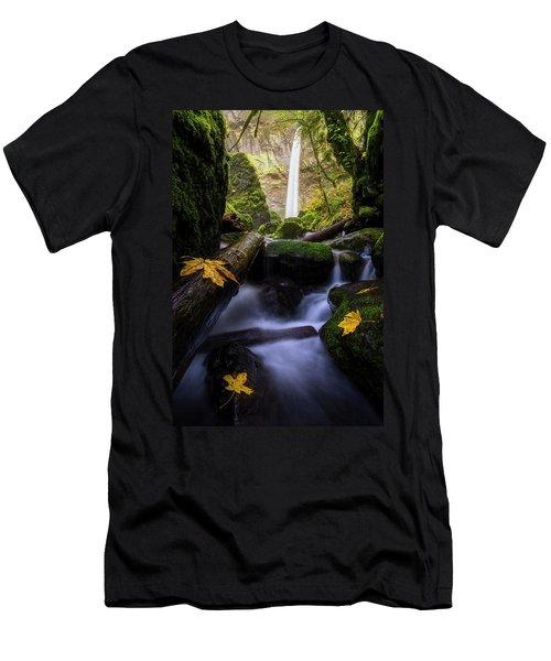 Wonderland In The Gorge Men's T-Shirt (Athletic Fit)