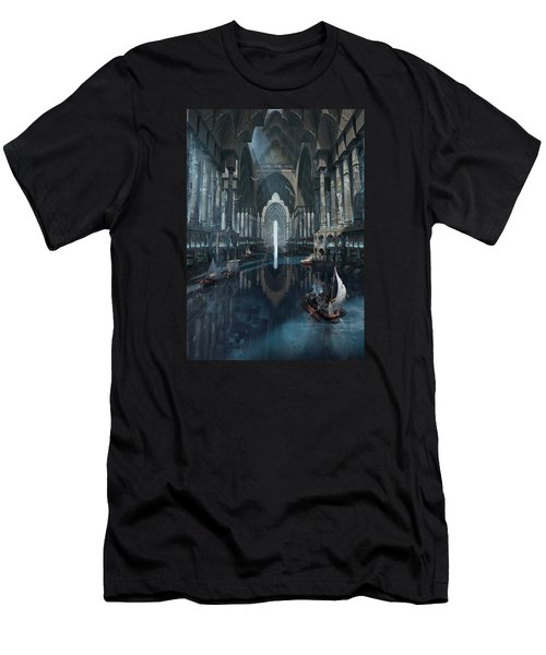 Wonders The Canal Of Isfahan Men's T-Shirt (Athletic Fit)