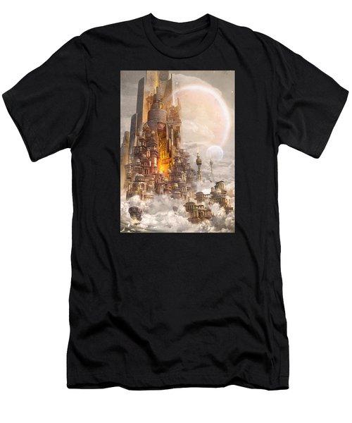 Wonders Tower Of Babylon Men's T-Shirt (Athletic Fit)