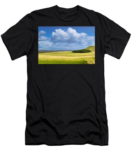 Wood Copse On A Hill Men's T-Shirt (Athletic Fit)