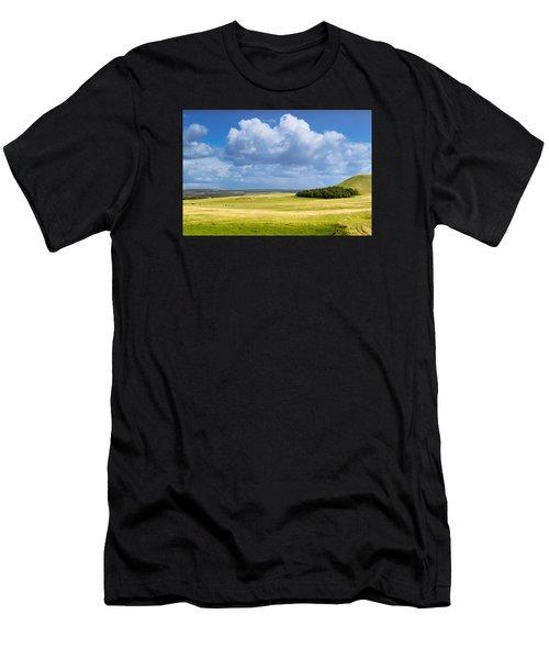 Wood Copse On A Hill Men's T-Shirt (Athletic Fit)