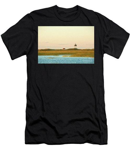Wood End Lighthouse Men's T-Shirt (Athletic Fit)