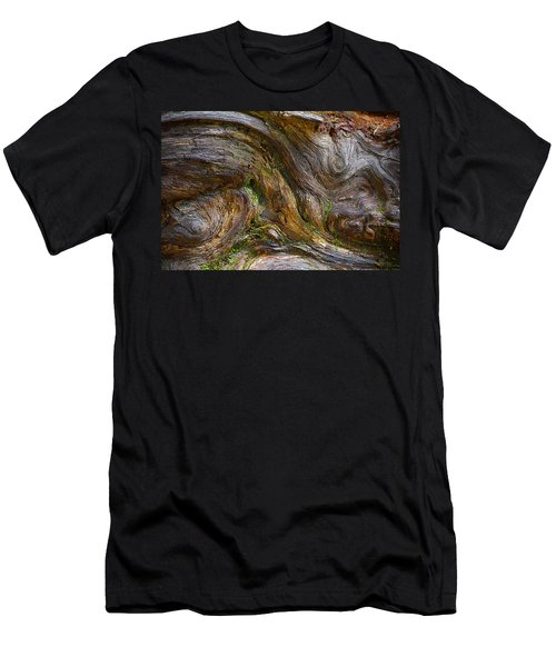 Wood Grain Men's T-Shirt (Athletic Fit)