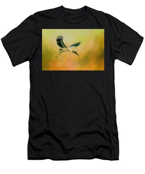 Wood Stork Encounter Men's T-Shirt (Athletic Fit)