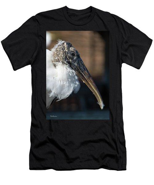 Wood Stork Men's T-Shirt (Athletic Fit)