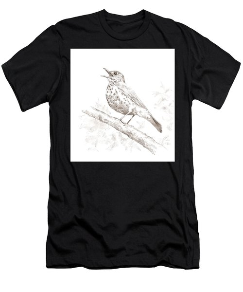 Wood Thrush Men's T-Shirt (Athletic Fit)