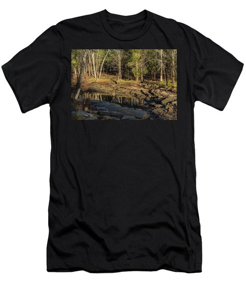 Wooded Backwash Men's T-Shirt (Athletic Fit)