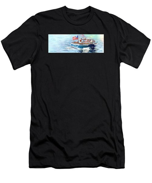 Wooden Boat Blues Men's T-Shirt (Athletic Fit)