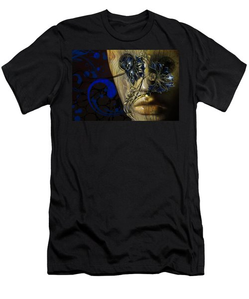 Wooden Man Men's T-Shirt (Athletic Fit)
