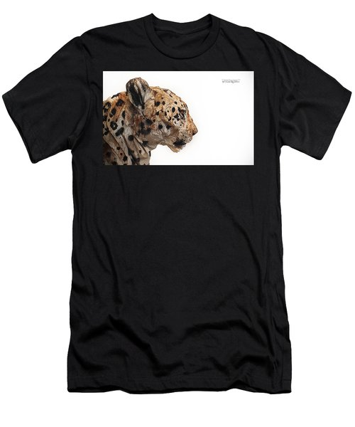 Men's T-Shirt (Athletic Fit) featuring the photograph Wooden Panther by Stwayne Keubrick