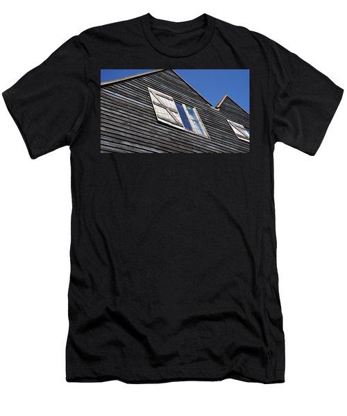 Wooden Men's T-Shirt (Athletic Fit)