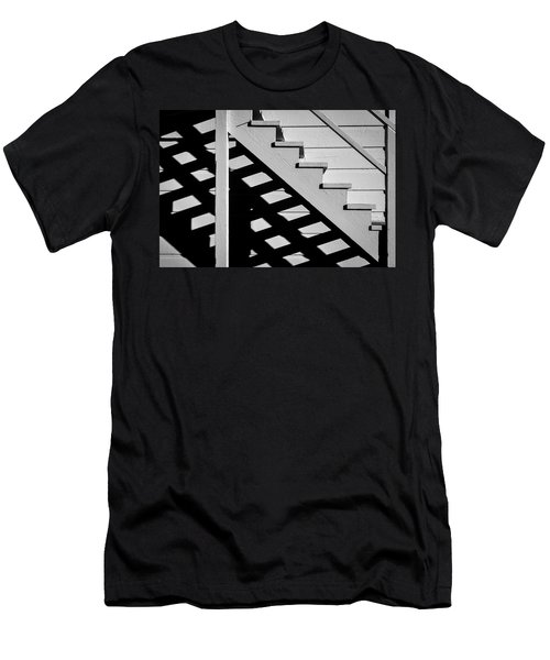 Wooden Stairs Men's T-Shirt (Athletic Fit)