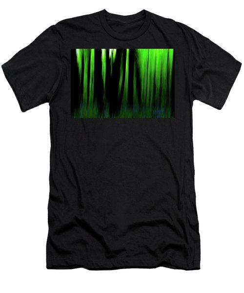 Woodland Abstract Iv Men's T-Shirt (Athletic Fit)