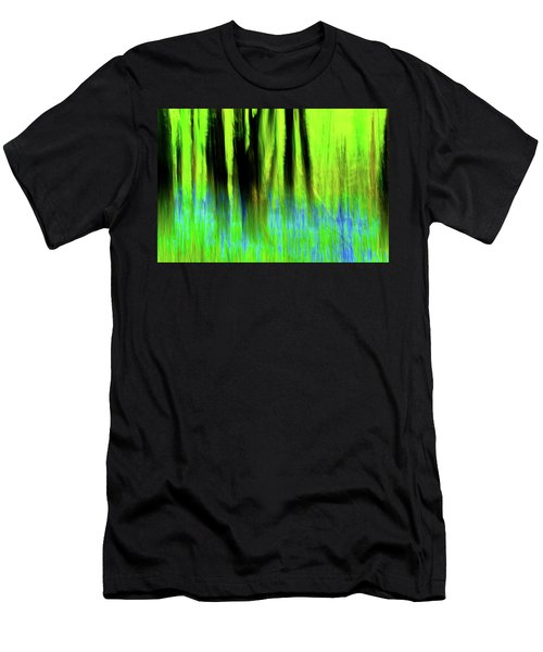 Woodland Abstract Vi Men's T-Shirt (Athletic Fit)
